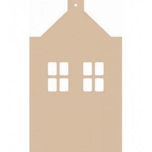 Hollands huisje MDF