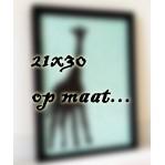 Behangdeco -to frame- OP MAAT | 21x30
