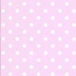RZ20 - Esta lichtroze met witte stippen roze
