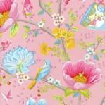 PI34 - Eijffinger PIP studio Chinese garden roze