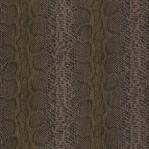 DR03 - Rasch slangenprint bruin/glans