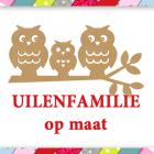Uilenfamilie Gomille 58x31 - OP MAAT