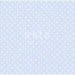 B22 - Esta lichtblauw met witte stippen