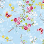 PI41 - Eijffinger PIP studio Chinese Rose blauw