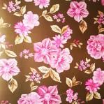 BR50 - AS Creation natuur bloem bruin