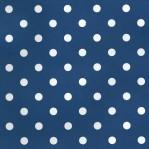 B20 - Esta donkerblauw met witte stippen
