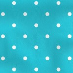 B21 - Aquablauw met witte stippen