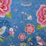 PI61 - Eijffinger PIP studio Birds in paradise blauw