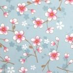 PI09 - Eijffinger PIP studio Cherry blossom l blauw