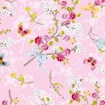 PI44 - Eijffinger PIP studio Chinese Rose roze