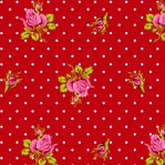 PI24 - Eijffinger PIP studio Roses & Dots rood
