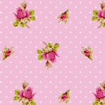 PI25 - Eijffinger PIP studio Roses & Dots roze