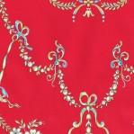 RD40 - Rood barok patroon