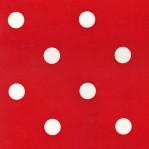 RD22 - Rood met witte stippen - L