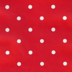 RD21 - Rood met witte stippen - M