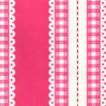 RZ09 - LIEF! ruit/kant roze