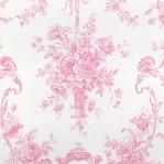 RZ70 - Wit/roze barokprint