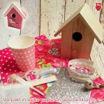 Vogelhuisje - (kinder)feestpakket