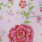 PI64 - Eijffinger PIP studio Birds in paradise roze