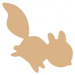 Eekhoorn (springend) MDF 14x14