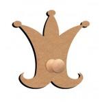 Kapstok kroon 26 cm