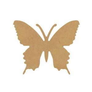 Vlinder MDF Gomille 15x12,5