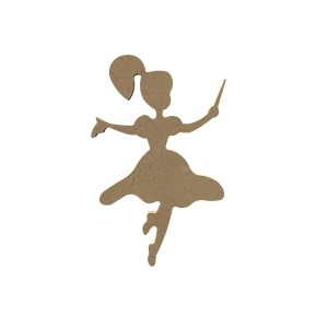 Fee dansend MDF Gomille 15cm