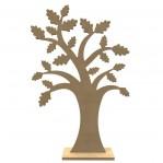 Eikenboom MDF met voet XL - Gomille 56x37