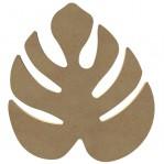 Blaadje/Philodendronblad MDF Gomille 24x26