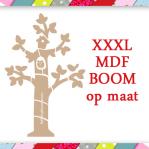 BOOM OP MAAT - XXXL MDF Boom